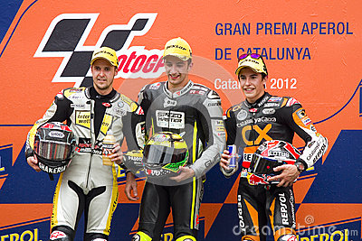 Moto 2 Podium Editorial Image