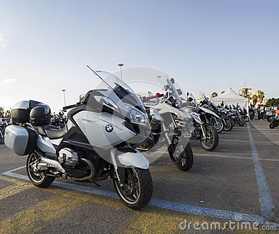 Moto bmw r1200 gt Editorial Stock Photo