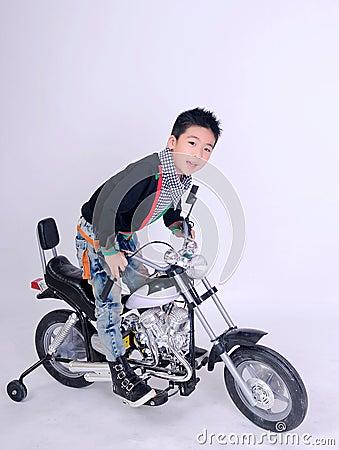 Moto boy rider