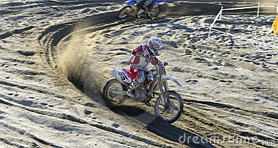 Moto cross Editorial Stock Image