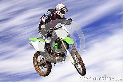 Moto cross rider c