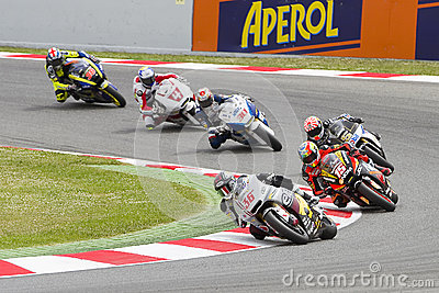 Moto Grand Prix Editorial Stock Photo