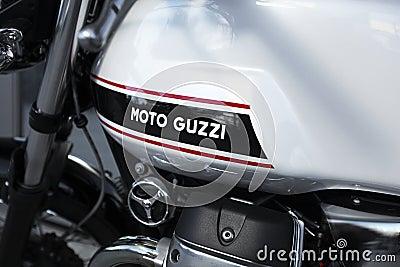 Moto Guzzi Editorial Image