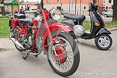 Moto Guzzi Falcone Editorial Stock Image