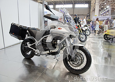 Moto Guzzi Stelvio Editorial Stock Photo