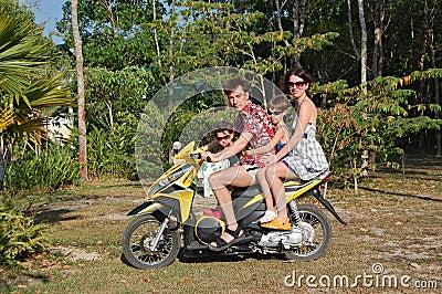 Motobike family