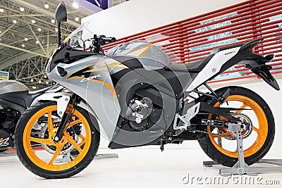 Motobike HONDA CBR Editorial Stock Image