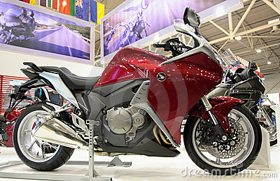 Motobike Honda VFR Editorial Stock Photo