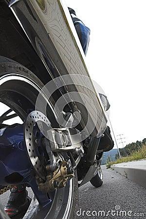 Motobike wheel