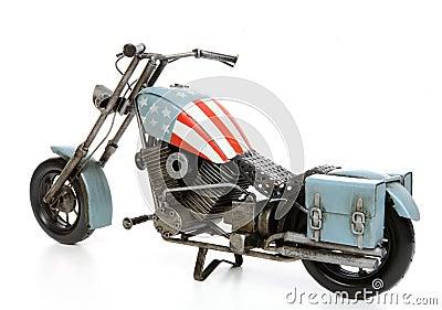 Motocicleta temática de Estados Unidos