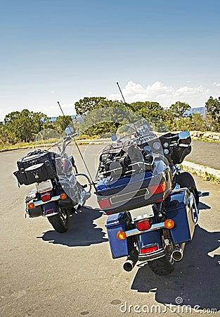 Motociclistas de viagem