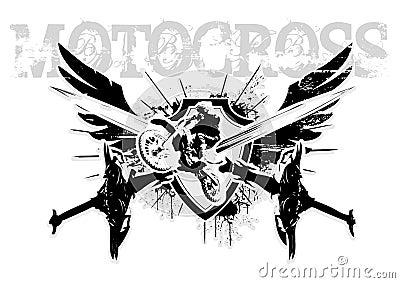 Motocroßflügel