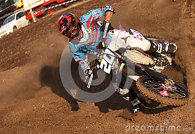 MOTOCROS-20-MX 2 Editorial Stock Image