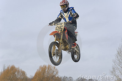 Motocross Editorial Photo