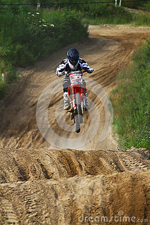 Motocross Editorial Stock Image