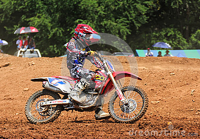 Motocross Editorial Photo