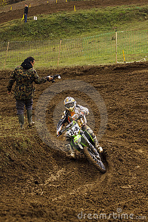 Motocross-84. Editorial Stock Photo