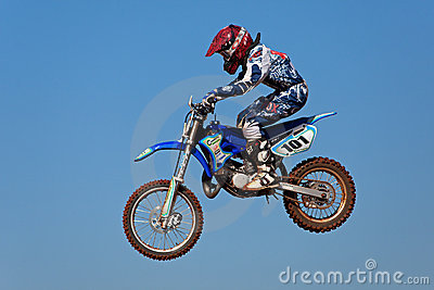 Motocross action Editorial Photography