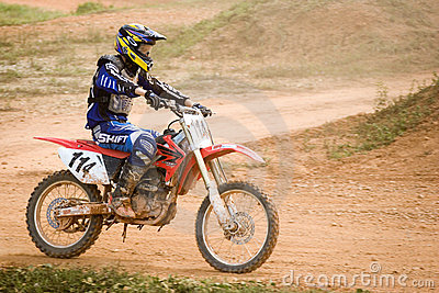 Motocross Action Editorial Stock Photo - Image: 16815698