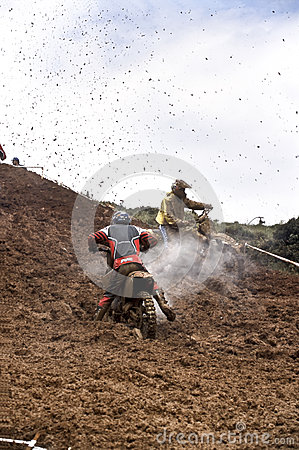 Motocross championship Editorial Stock Image