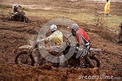 Motocross championship Editorial Photo
