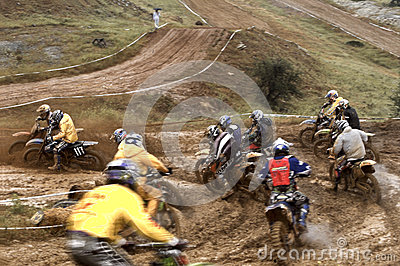 Motocross championship Editorial Photography