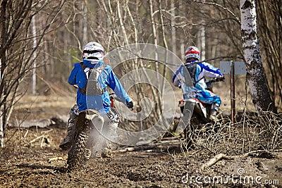 Motocross Chase