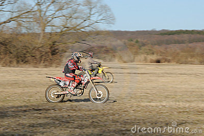Motocross competition Editorial Photo