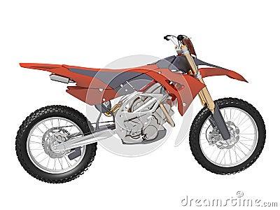 Motocross dirt bike