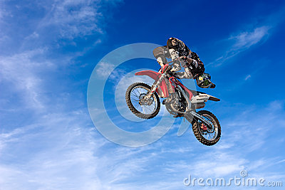 Motocross freestyle Editorial Photo