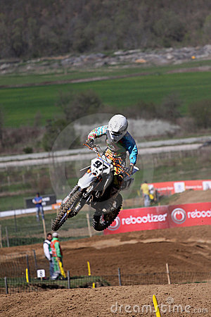 Motocross-jump.World and European Motocross Champi Editorial Image