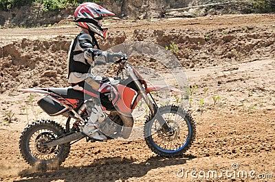 Motocross kid