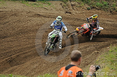 Motocross racers Editorial Photography