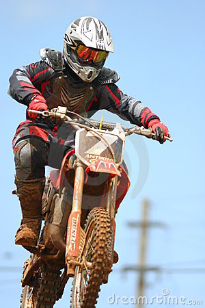 Motocross racing Editorial Stock Image