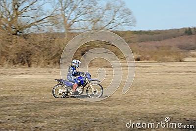 Motocross rider Editorial Photography