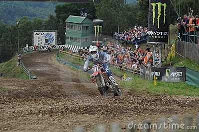 Motocross visitors Editorial Stock Image