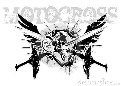 Motocross wings