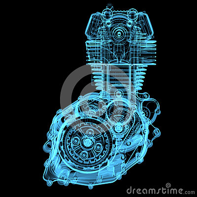 Free Motocycle Engine Royalty Free Stock Image - 29274076