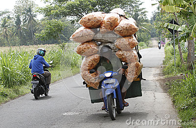 Motocycle Editorial Image