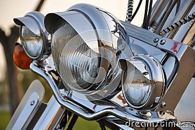 Motocyclette lightbar