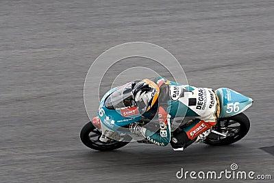 Motogp 125cc - Hugo Van Den Berg Editorial Stock Photo