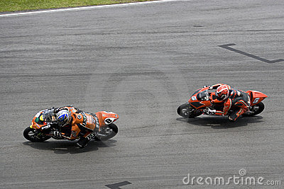 Motogp 125cc Racing Action Editorial Stock Photo