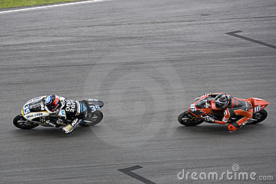 Motogp 125cc Racing Action Editorial Stock Image