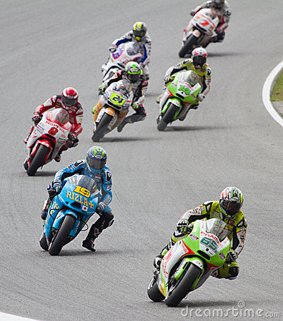 MotoGP Grand Prix Editorial Stock Image