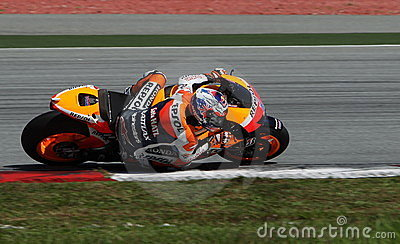 MotoGP rider Casey Stoner Editorial Photo
