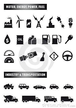 Free Motor And Power Icons Stock Image - 23592621
