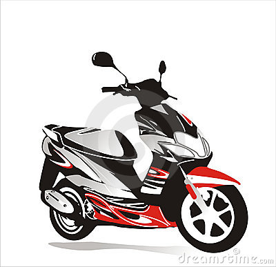 Free Motor Bike Royalty Free Stock Photos - 2263888