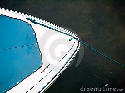 Motor Boat Abstract