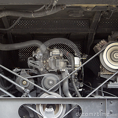 Motor car engine