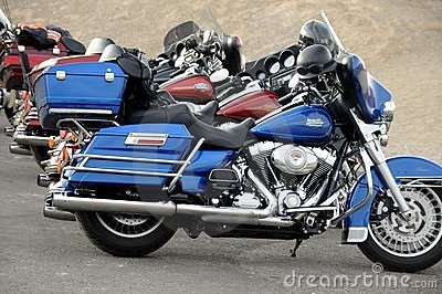 Motor Cycles Editorial Stock Photo